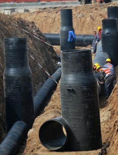 污水检查井施工